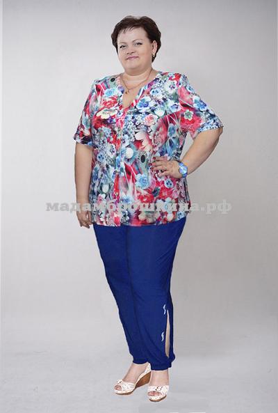 Блуза Цветик (фото, вид 1)