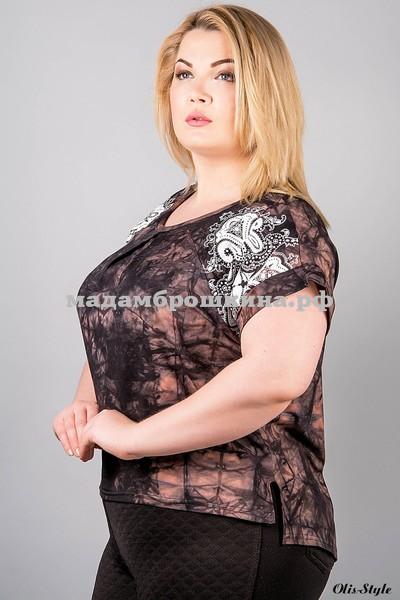Блуза Флорет (фото, вид 1)