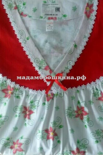 Сорочка ночная Ирина (фото, вид 2)