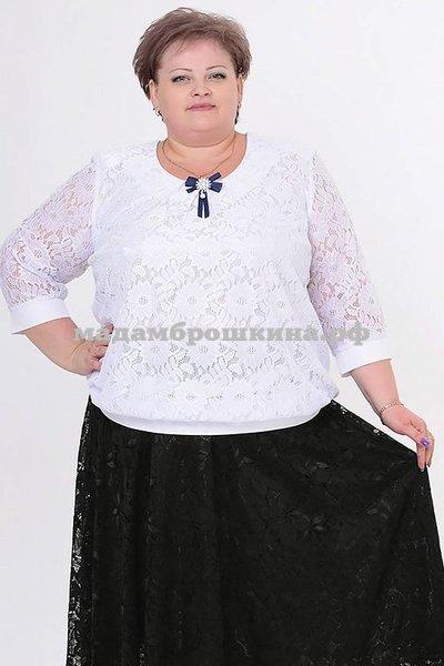 Блуза Жасмин бант (фото)