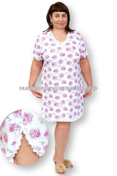 Сорочка ночная Букетик (фото)