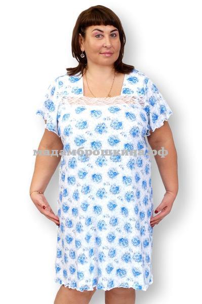 Сорочка ночная Цветочек (фото)