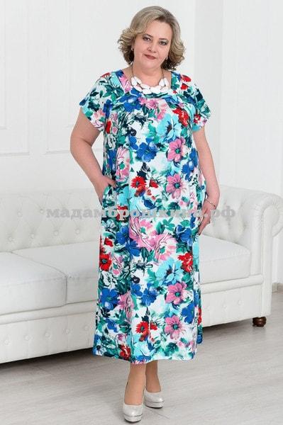 Платье для дома и отдыха Глаксинья (фото)