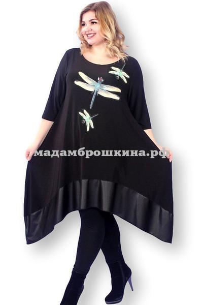 Туника -платье Игривые стрекозки (фото)