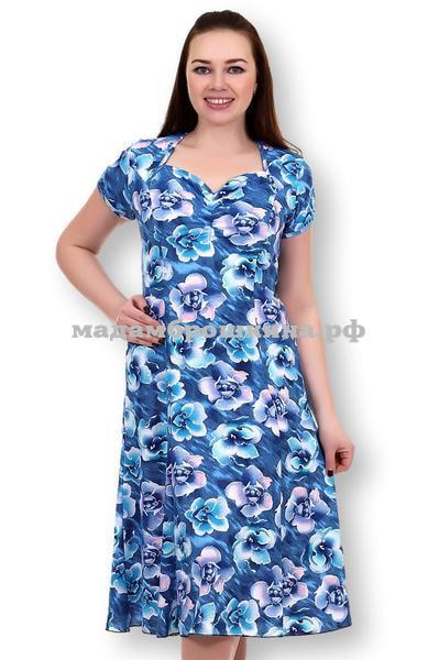 Платье для дома и отдыха Орхидея (фото)