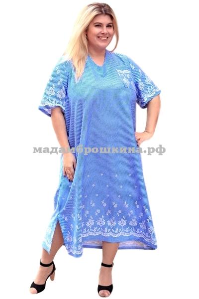 Платье для дома и отдыха Незабудка (фото)