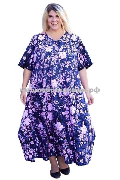 Платье для дома и отдыха Агафья (фото)