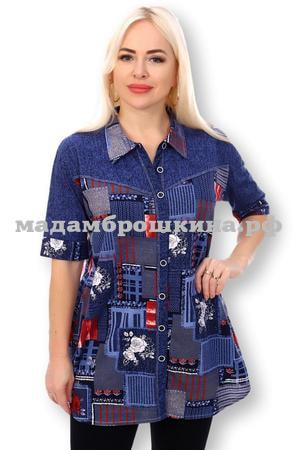 Рубашка Джинсовый микс