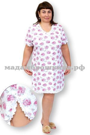 Сорочка ночная Букетик