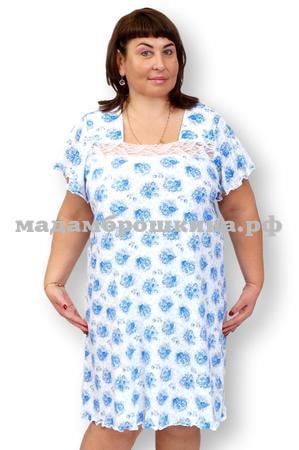Сорочка ночная Цветочек