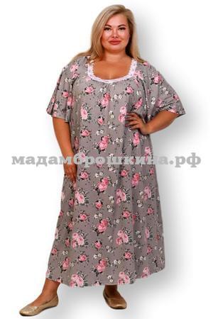 Сорочка ночная Фламинго