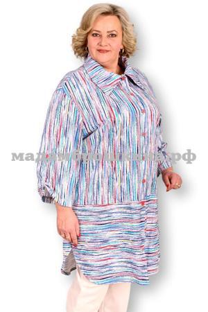 Рубашка Айша макси