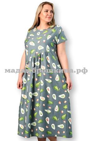 Платье для дома и отдыха Авокадо