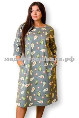 Платье для дома и отдыха Фруктайм-2