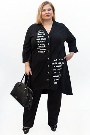 Туника Пуговка штапель