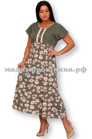 Платье для дома и отдыха Лужок