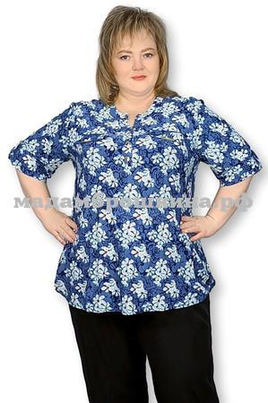 Блуза Незабудка