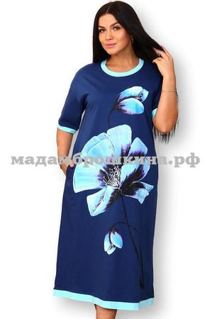 Платье для дома и отдыха Флорио