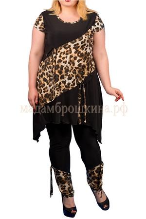 черный/леопард