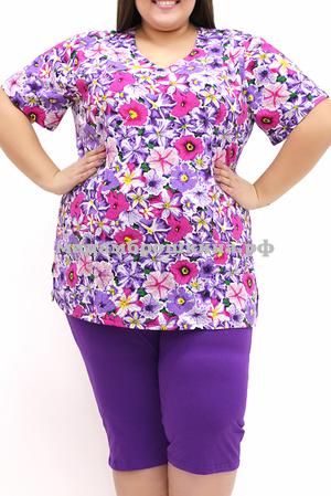 фиолет/цветы