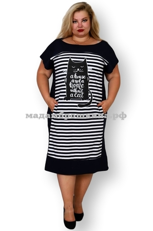 Платье для дома и отдыха Кот