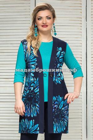 Комплект жилет+блуза Франция