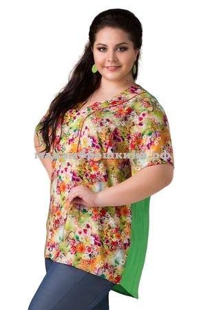 Блуза Акварель